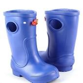 Резиновые сапоги Jose Amorales 20/21, 22/23, 24/25, 26/27(р) синий 117051  лёгкие сапоги для для
