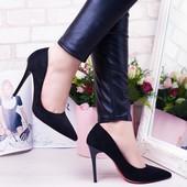 Шикарные туфли на красной подошве