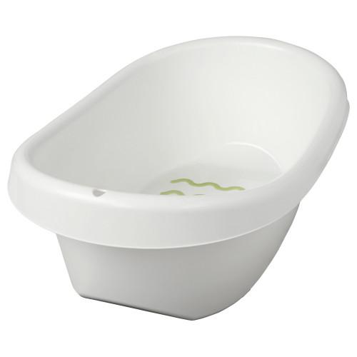 Ванночка детская, белый/зеленый 402.484.43 Lättsam, Лэтсам Икеа Ikea В наличии фото №1
