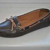 Туфли - мокасины Clarks р. 6D (25,7 см)