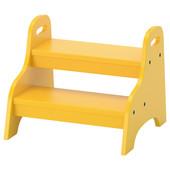Детский стул, желтый, 40x38x33 см 803.715.20 Trogen, Труген Икеа Ikea В наличии