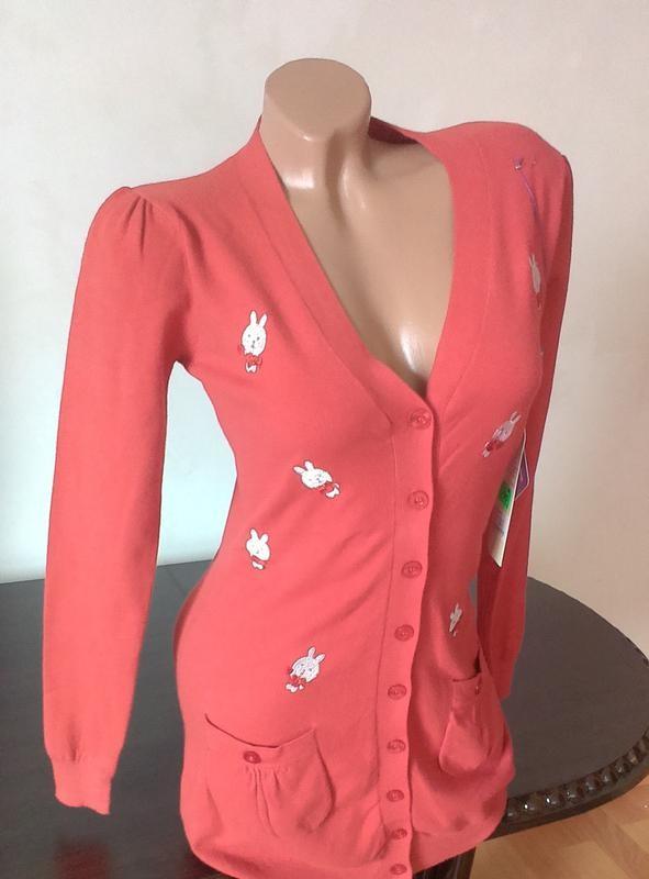 Стильная кофта свитер с италии -%распродажа% код: 99-07 фото №1