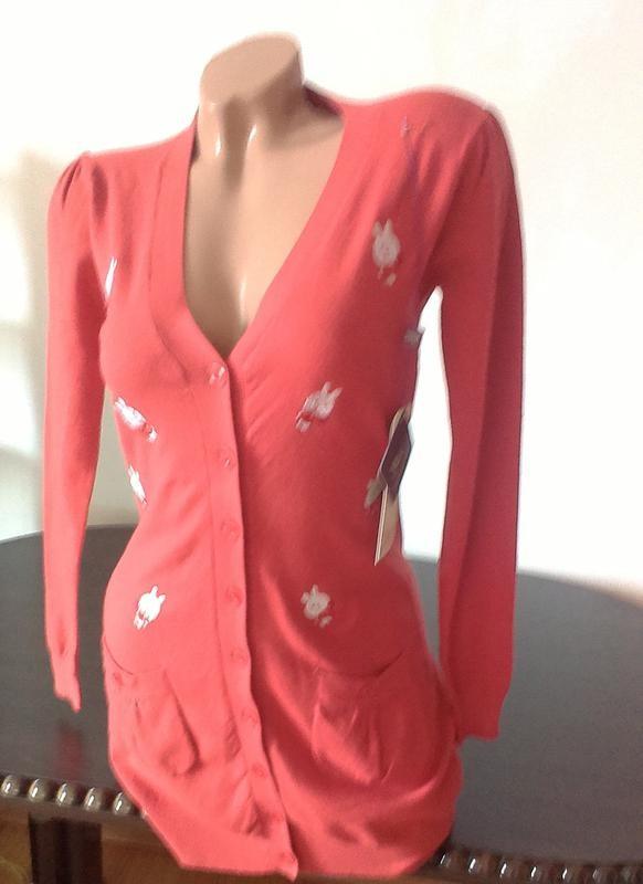 Стильная кофта свитер с италии -%распродажа% код: 99-07 фото №4
