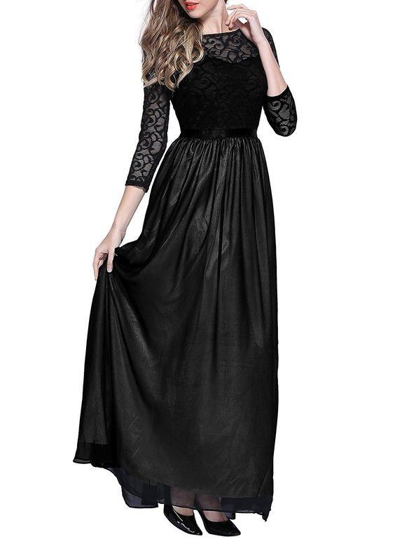 Роскошное длинное вечернее платье miusol, гипюровый верх, р.s фото №2