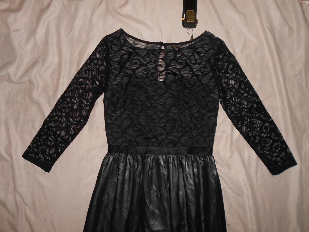 Роскошное длинное вечернее платье miusol, гипюровый верх, р.s фото №6
