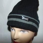 Спортивная фирменная зимняя новая шапка шапочка .Slazenger (Слазенгер).м-л-хл .