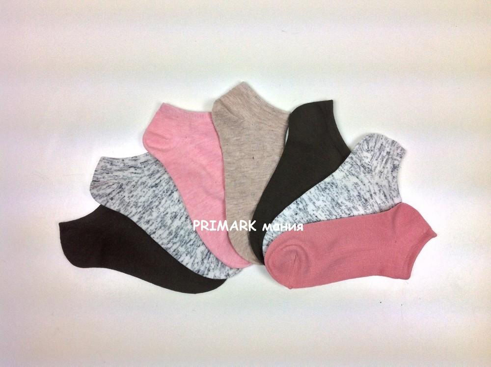 Женские низкие носки primark фото №1