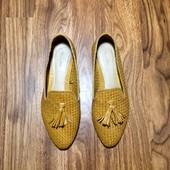 Плетённые туфли Massimo Dutti оригинал