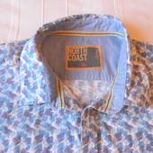 Муж.рубашка с корот.рукавом m&s р.XL