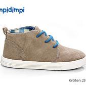 Замшевые ботиночки 17см Impidimpi цвет бежевый