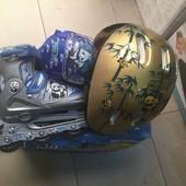 Набор панда роликовые коньки+ шлем+ защита