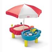 Песочница-стол - Тихая гавань (для песка и воды, с аксессуарами) Little Tikes 401L00070