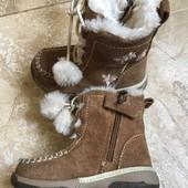 Натуральные ботинки на девочку  23р Timberland