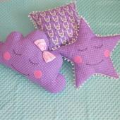 Комплект набор декоративных подушек для детской комнаты