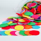 Кружочки из фетра цветные, белые, черные. Размеры уточняйте  Толщина: 1 мм  Тип фетра: средней  жес