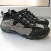 34р 22см Ecco Кожаные треккинговые кроссовки