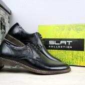 Мужские классические кожаные туфли, р 40-45, код gavk-10891