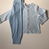 Детский комплект штанишки с регланом Impidimpi на мальчика 6-12 мес рост 74-80