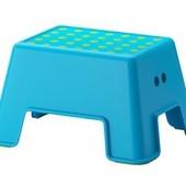 Табурет-лестница, синий, Больмен, Bolmen 902.913.30 Икеа Ikea