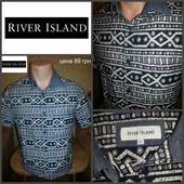 Рубашка, короткий рукав , River Island, оригинал, р.S