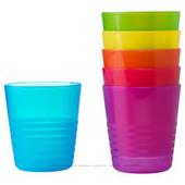 Набор детских стаканов, 6 штук, Калас Kalas 101.929.56 Икеа Ikea