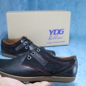 Мужские Ботинки Ydg Black, р. 40-45, код gavk-10794