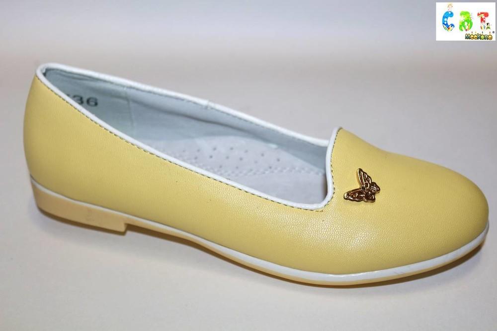 Летние туфли на девочек фото №1