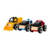 Машинки, набор 3 штуки Лиллабу, Lillabo 401.714.72 Икеа Ikea