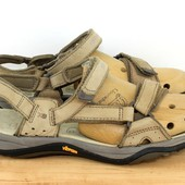 фирменные кожаные сандалии 26 см
