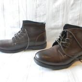 Муж.кожаные ботинки Bata р.46 ст.30