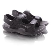 Удобные легкие мужские сандалии черного цвета