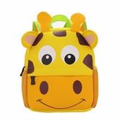 Рюкзак детский из неопрена для мальчика и для девочки. Жираф