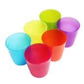Набор стаканов 6штук, разные цвета Икеа Калас, 101.929.56 Kalas Ikea В наличии
