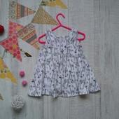 1-1/5 года Платье в жирафы M&S
