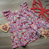 Блуза с цветочным принтом H&M (1,5-2 года)