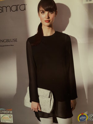 Женская удлиненная блузка туника 42р евро esmara германия фото №1