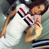 Платье-Поло спортивное