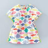 Платье Colored Fishes 18 мес-6 лет Little Maven