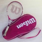 """детская теннисная ракетка Wilson 25"""""""