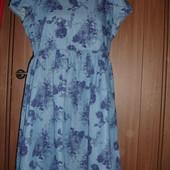Фирменное Denim джинсовое платье на 50-52 размер идеал
