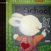 Книжка на английском языке для детей.Школа.