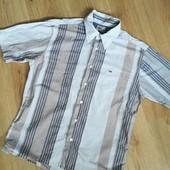 Мужская рубашка с коротким рукавом  TommyHilfiger p.L