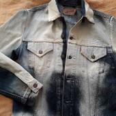 Джинсовый пиджак Levis р.48-50 L