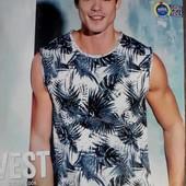 Стильная хлопковая футболка XL Livergy Германия