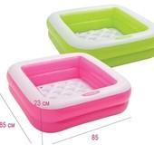 Детский надувной бассейн Intex 57100 (85*85*23 см)