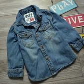 Рубашка джинсовая Next (12-18 мес)