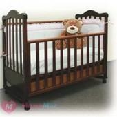 Кроватка детская Верес Соня Лд с ящиком. Бук, цвет орех