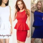 Платье Баска ,цвета в асортименте