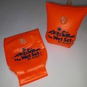 Фирменные высококачественные детские  нарукавники для плавания Intex 2-6 лет 15-30 кг бу