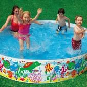 Детский каркасный бассейн 244 х 46 см Intex 56453